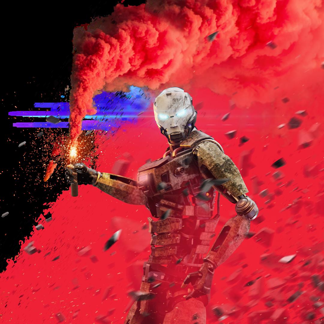 Cyborg Qanga